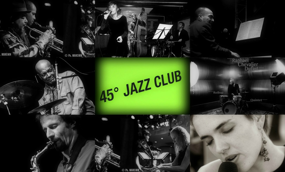 The 45 Degrés Jazz Club has a cool new location!