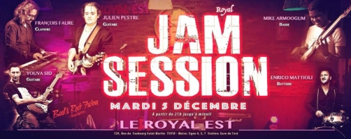 Le Royal Est Jam Session | par  Youva Sid