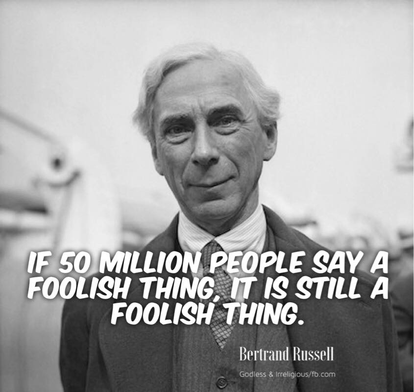Bertrand Russell |  Stand Your Ground