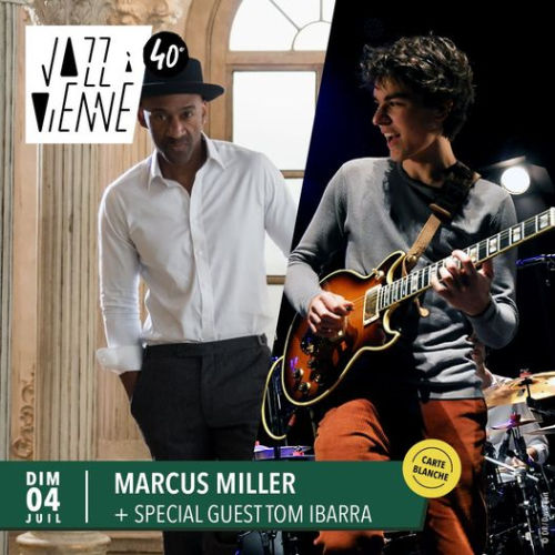 Jazz-à-Vienne-Marcus-Miller-with-Tom-Ibarra
