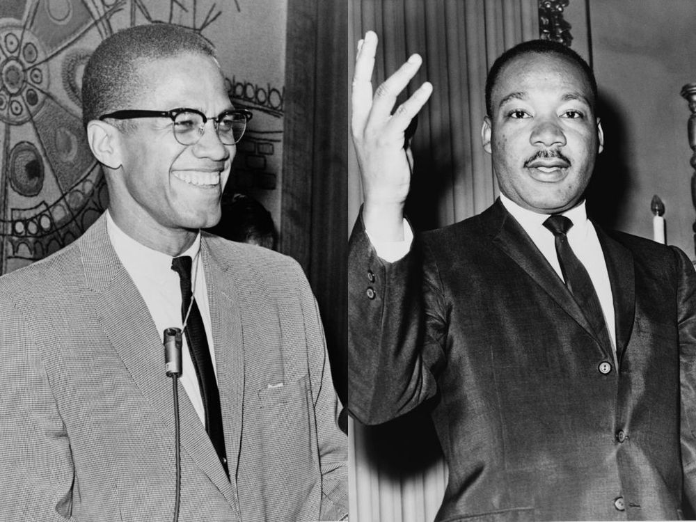 Malcolm-X-Martin-Luther-King