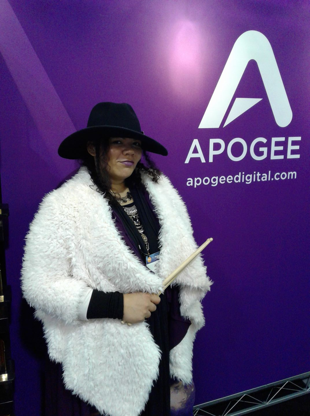 April King | Drummer / Spoken Word Artist / APOGEE